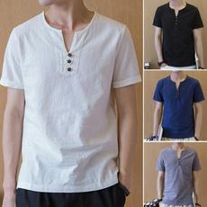 Summer, Shorts, Shirt, Chinese