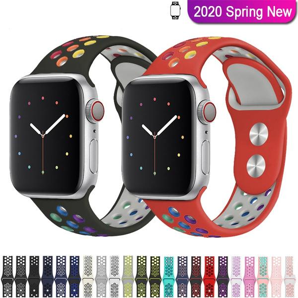 applewatchband40mm, Bracelet, rainbowbandforapplewatch, applewatchband42mm