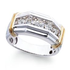 DIAMOND, wedding ring, Silver Ring, fashion ring