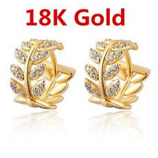 White Gold, yellow gold, Dangle Earring, Jewelry
