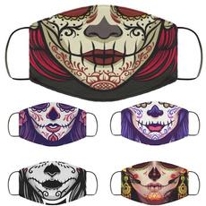 dustproofmask, funnyfacemask, mexicanskull, Halloween