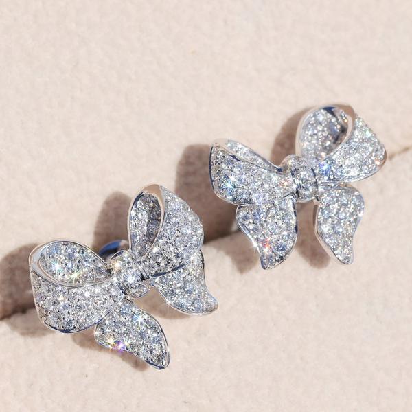 DIAMOND, earcuffjewelry, bling bling, Stud Earring