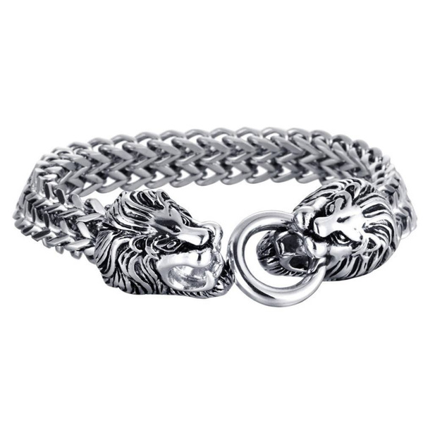 Charm Bracelet, Steel, Gifts For Men, skull