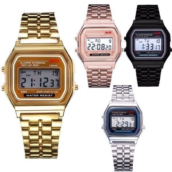 LED Watch, Steel, jeweleryandwatche, led