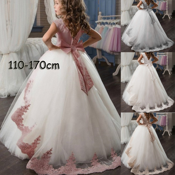 Fashion, Lace, childrendre, Evening Dress