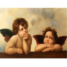 5ddiamondembroidery, DIAMOND, Home Decor, Angel