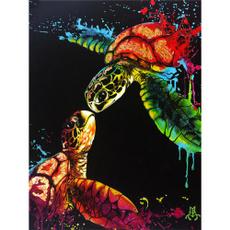 Turtle, DIAMOND, art, Home Decor