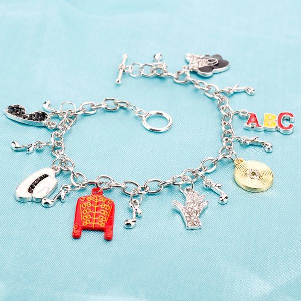 Charm Bracelet, michaeljackson, Jewelry, Gifts