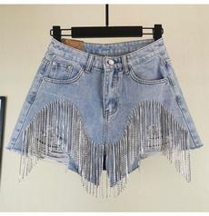 Heavy, Summer, brokenpant, Shorts