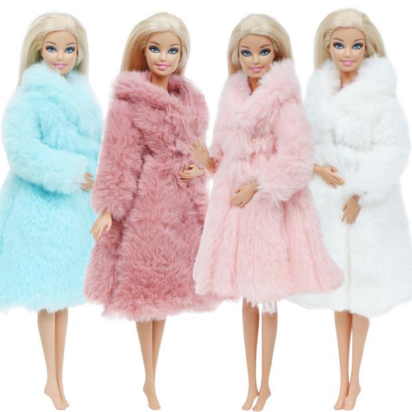 Dress, Toy, fur, Winter