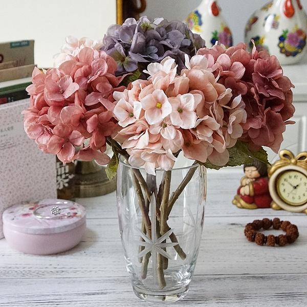 Home & Kitchen, Decor, Flowers, silkhydrangea