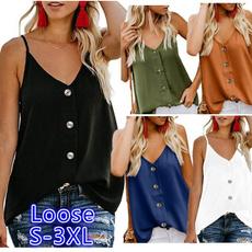 Summer, Vest, soidcolor, Shirt