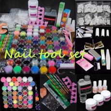 Machine, art, Manicure Set, Belleza