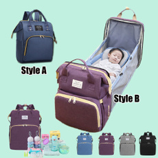 mummybag, baby bags, Backpacks, foldablebed