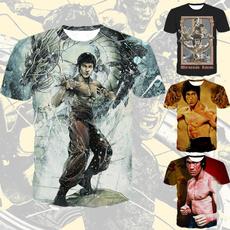 brucelee, Fashion, Star, Shirt