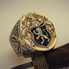 ringsformen, 925 sterling silver, wedding ring, gold