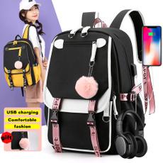 grilsbackpack, Laptop Backpack, School, Kids' Backpacks