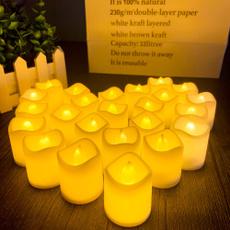 party, led, tealightscandle, candlelight