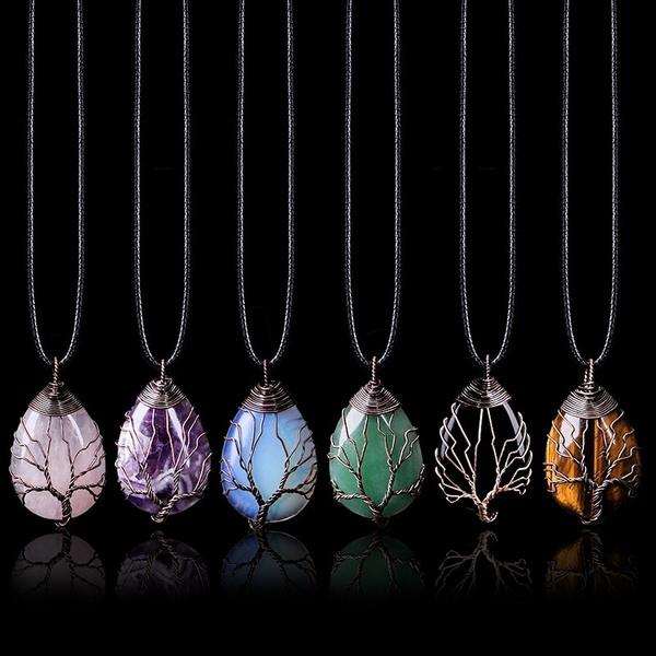 pendantnecklacee, gemstoneneckalce, necklace for women, wiccannecklace