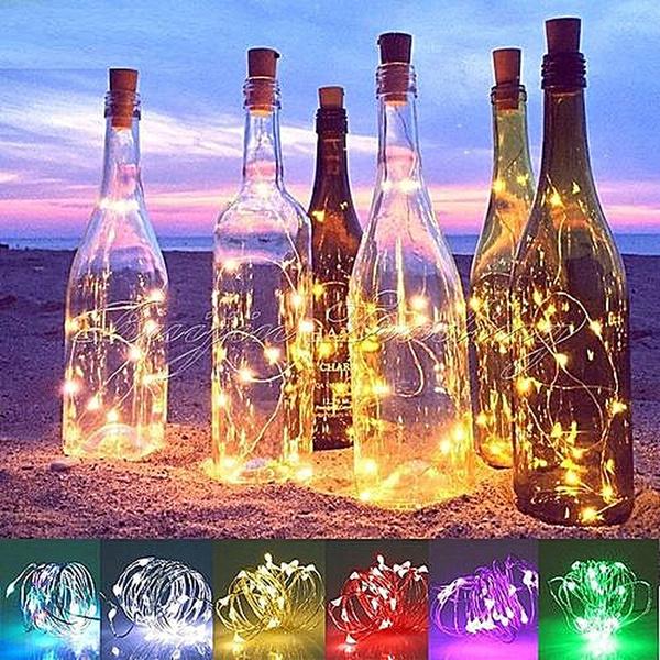 Copper, Night Light, Bottle, Lighting