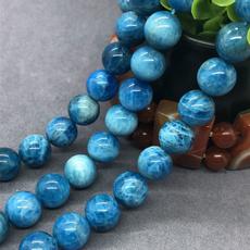Blues, apatitebead, Jewelry, apatitestone