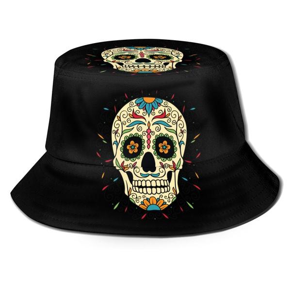 Foldable, bucketcap, skull, Hunting