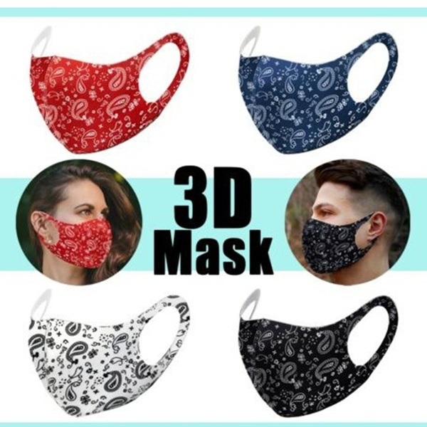 paisley, Fashion, Cover, Masks