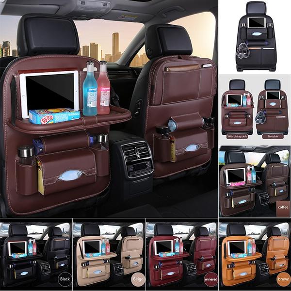 carchairbacktable, Bags, cardinningtable, leathercarbackhangingbag