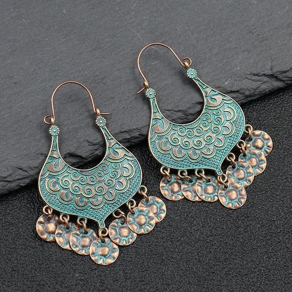 Vintage, forfriendgift, Hoop Earring, Jewelry