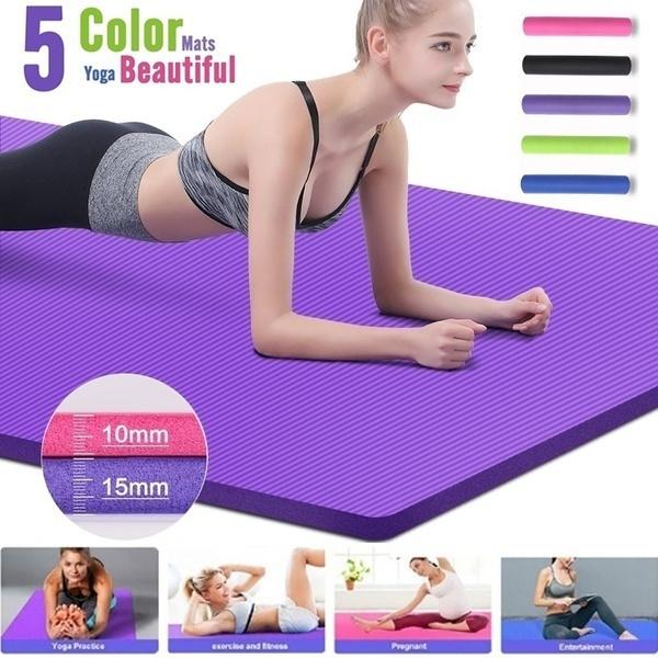 Yoga Mat, Yoga, yogamatthick, Fitness