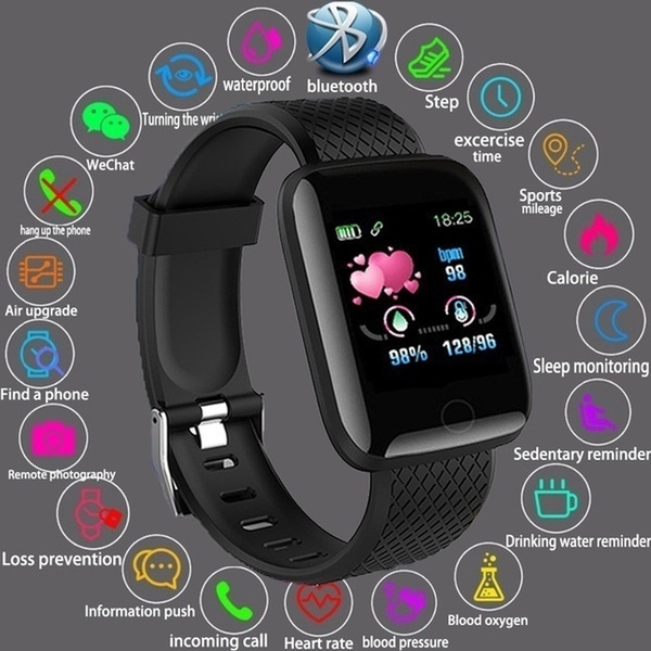 Heart, Fitness, Watch, Bluetooth watch