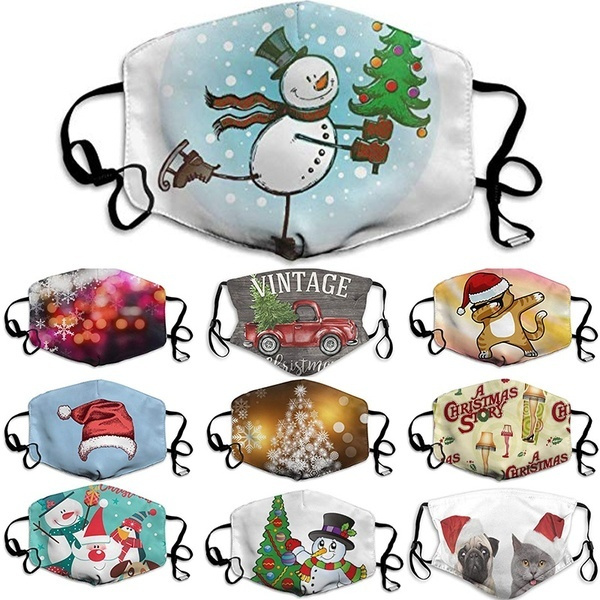 cute, Cotton, Christmas, cartoonmask