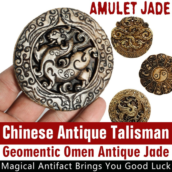 Antique, Collectibles, amuletjade, Chinese