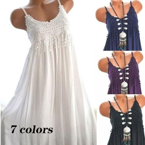 Summer, Plus Size, sundress, Tunic dress