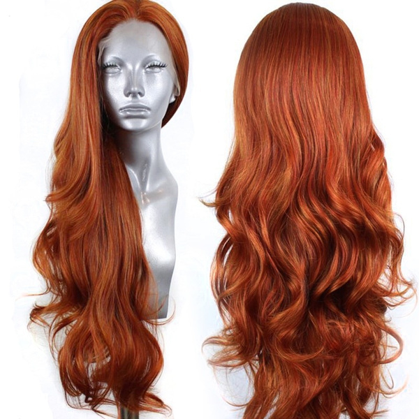 wig, Synthetic Lace Front Wigs, longwavywig, fashion wig
