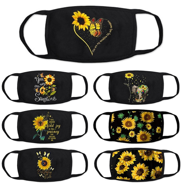 butterflyprint, 3dprintmask, dustproofmask, Sunflowers