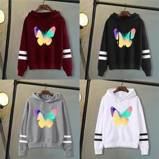 butterfly, Casual Hoodie, hooded, pullover hoodie