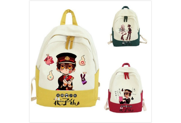 Details about  /Toilet-Bound Hanako-kun Anime Cosplay Canvas Shoulder Bags Shopping Bag Fashion