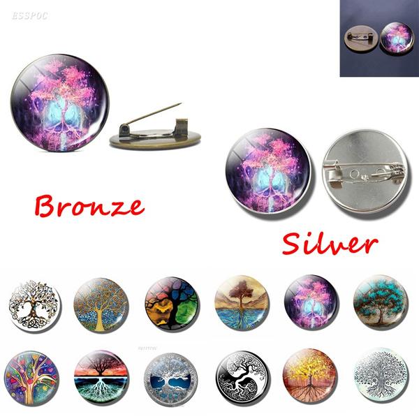 silverbrooch, Fashion, treeoflifejewelry, Jewelry