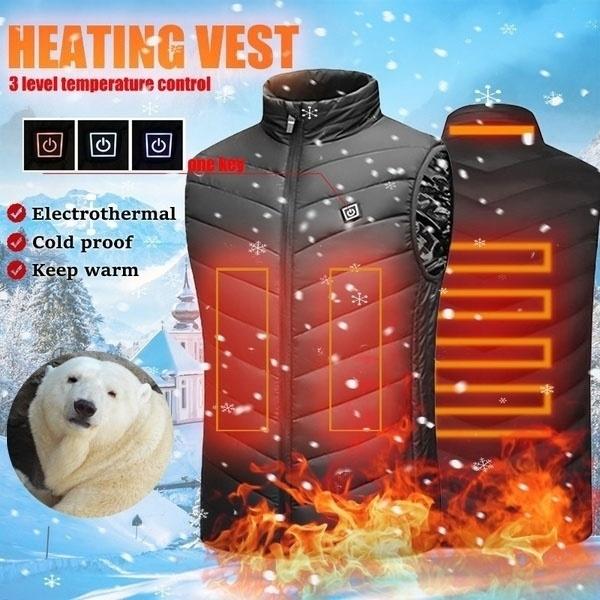 Vest, Outdoor, Electric, winter coat