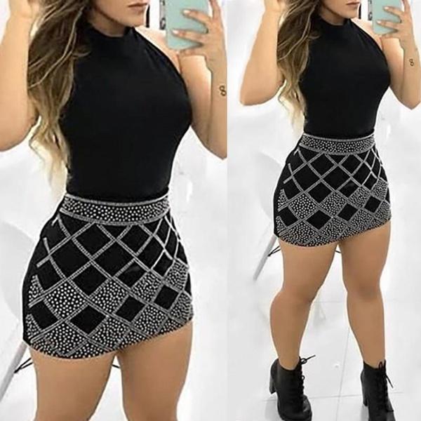 Mini, Woman, short dress, New Style