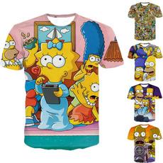 Summer, Fashion, Simpsons, Shirt