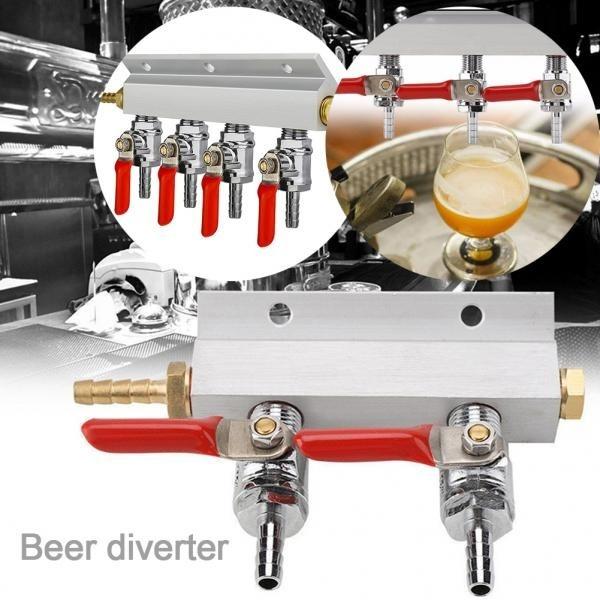 beerbrewingkit, airgassplitter, Home & Living, Beer