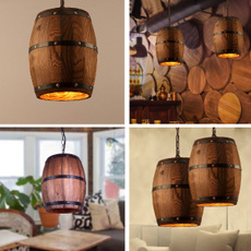 Interior Design, cafelight, Vintage, woodhanginglight