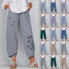 Cotton, elastic waist, cottonpant, pantswithpocket