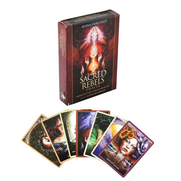 sacredrebelsoracle, fortune, deck, cardsforkid