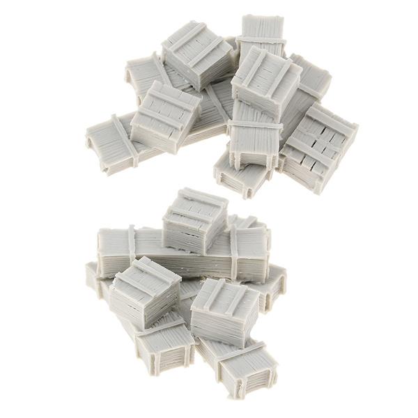 Box, Gray, modelskit, resinfigurineaccessory