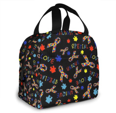 cute, Picnic, coolerbagsforfoodstorage, aluminumlunchbag
