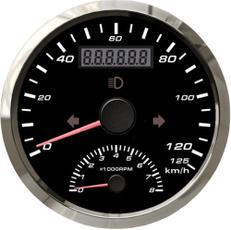 speedometerwithtachometer, speedogauge, Waterproof, Cars