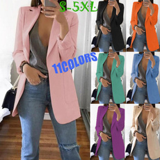 Plus Size, Winter, cardigan, Long Sleeve